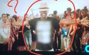 Capture d'écran du clip de Black M «Je suis chez moi» postée sur Twitter par Sihame Assbague.