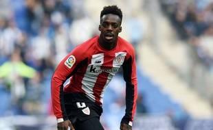 Le joueur de l'Athletic Bilbao Inaki Williams a été victime de cris racistes.