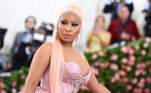 La rappeuse Nicki Minaj au Metropolitan Museum of Art de New York le 6 mai 2019.