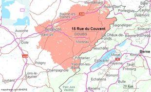 Le décès est survenu dans un groupe scolaire des Fontanelles, près de la frontière suisse dans le Doubs. Illustration