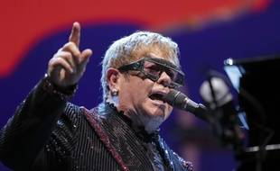 Elton John en concert à Washington, en septembre 2018.