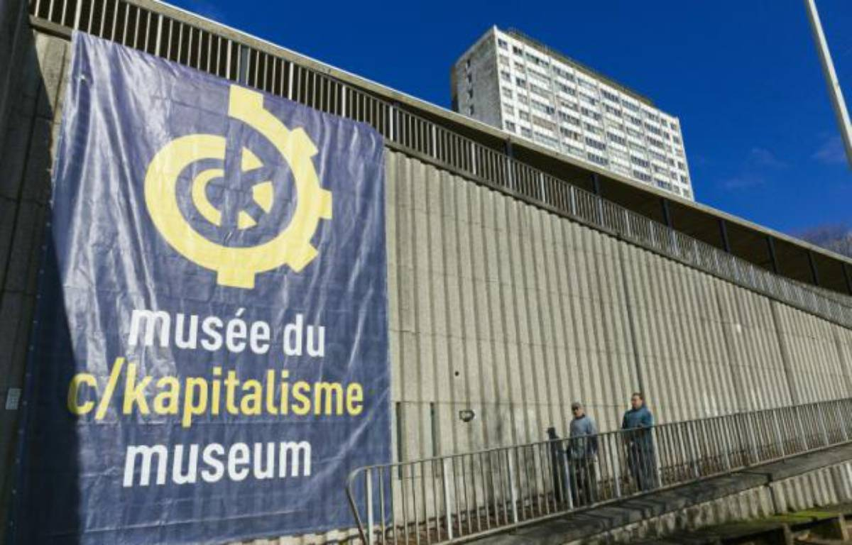 Le Musée du C/Kapitalisme, le 12 février 2016 à Bruxelles – Thierry Monasse AFP