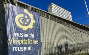 Le Musée du C/Kapitalisme, le 12 février 2016 à Bruxelles