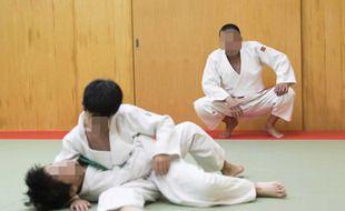 Illustration d'un cours de judo.
