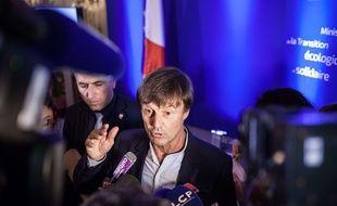Nicolas Hulot, ministre de la Transition écologique et solidaire, a présenté son plan climat le 6 juillet 2017.