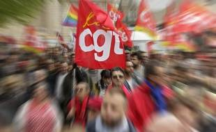 Illustration d'une manifestation de la CGT.