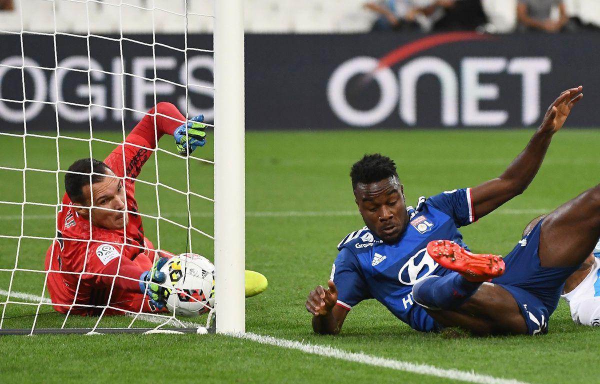 Pelé et Cornet à Marseille le 18 septembre 2016 – BORIS HORVAT / AFP