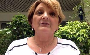 Capture d'écran de Yolande sur TF1