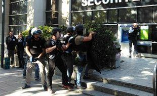 Les policiers étaient engagés sur un exercice le 18 octobre à Rennes.