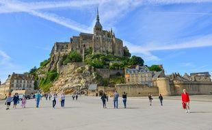 Image du Mont Saint-Michel, l'un des sites touristiques français les plus visités.