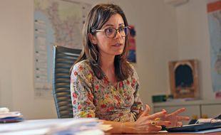 Audrey Gatian est adjointe en charge de la mobilité à la mairie de Marseille.