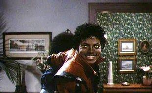 L'artiste Michael Jackson dans Thriller