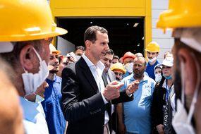 Bachar al-Assad, en campagne électorale, brigue un quatrième mandat présidentiel.