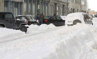 Montréal sous la neige.