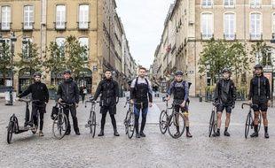 A Rennes, un collectif de livreurs indépendants s'est monté pour se défaire de Deliveroo et UberEats.