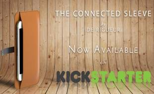De Rigueur a lancé son projet Connected Sleeve sur Kickstarter ce jeudi 4 février.