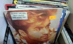 Des disques de George Michael (illustration).