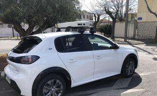Cette voiture permet à la Tam de repérer les automobilistes indélicats