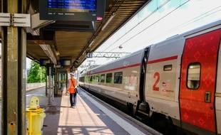 La gare SNCF de Lyon Part-Dieu (Illustration).