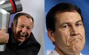 Jean-Michel Aulas et Rudi Garcia pourraient former un duo détonant à Lyon.