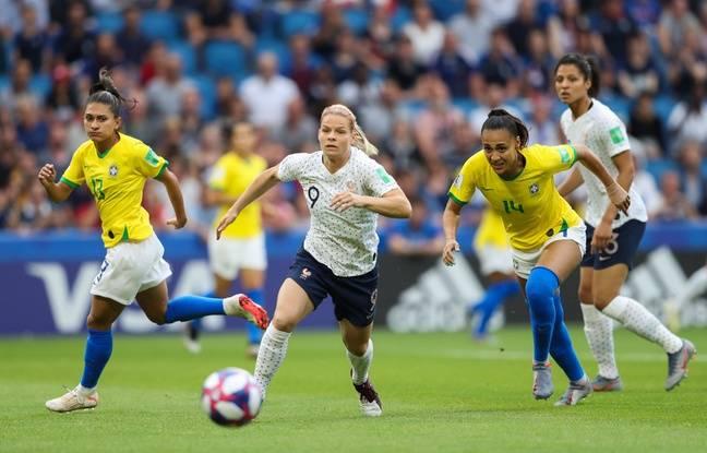 France - Brésil / Coupe du monde: Amandine Henry, héros de la nation... Les Bleues en quarts... Revivez le match avec nous