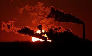 Une centrale à charbon au Kansas (illustration).