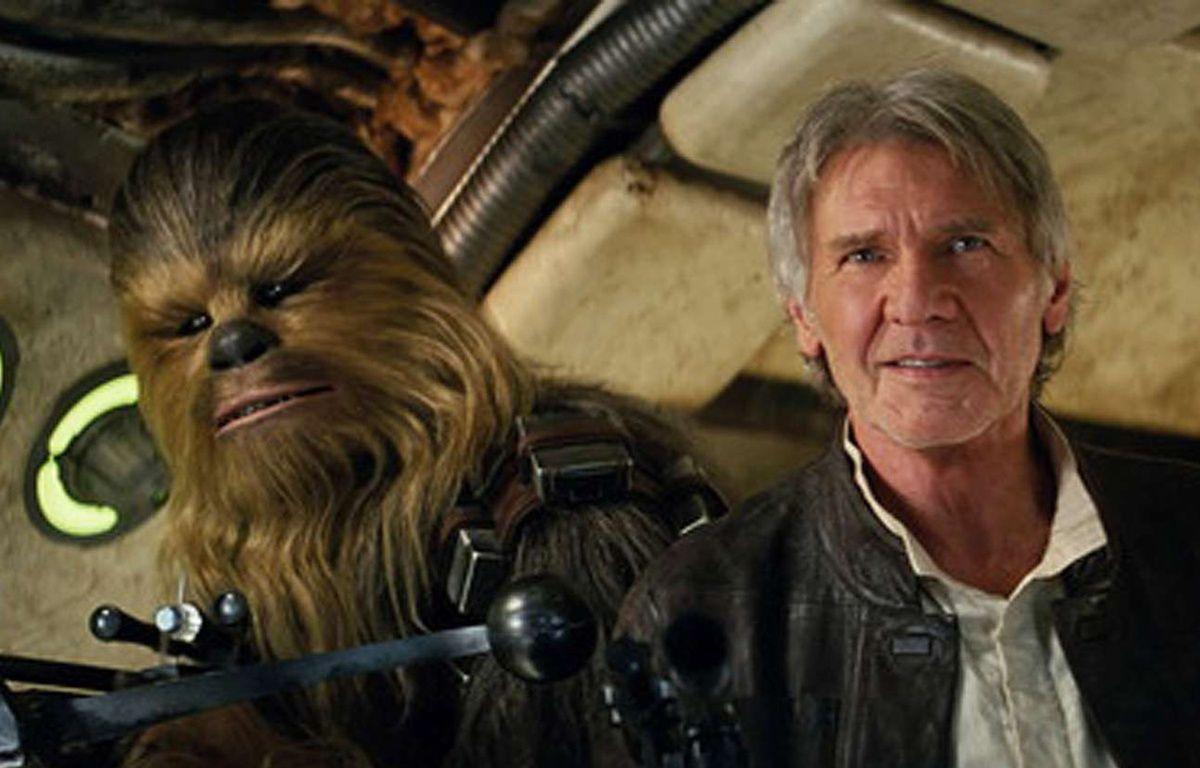 Chewbacca et Han Solo dans «Le Réveil de la force». – Film Frame/AP/SIPA