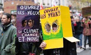 Marche pour le climat (Illustration)
