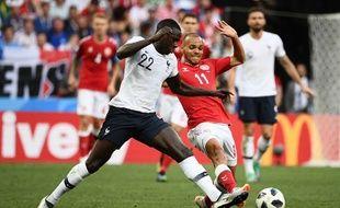 Benjamin Mendy a joué 40 minutes contre le Danemark.