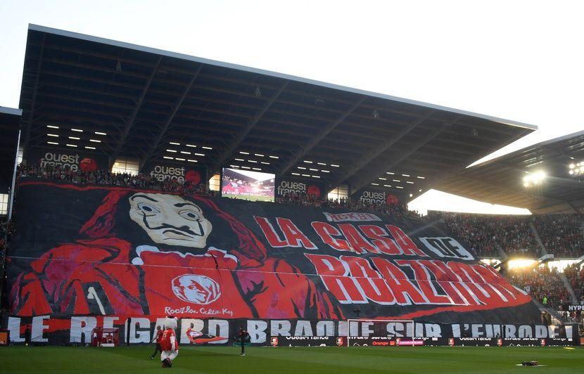 Stade Rennais: «La Casa de Papel» reprend un tifo des supporters dans la nouvelle saison