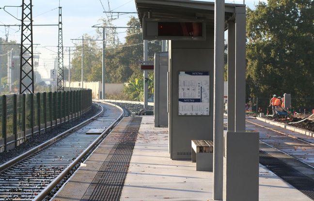 Terminus de la ligne C à Blanquefort