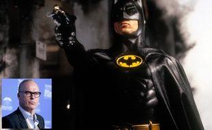 Michael Keaton dans Batman.