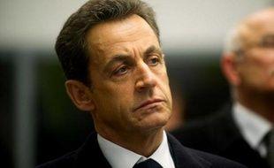 Nicolas Sarkozy à Metz le 1er janvier 2012