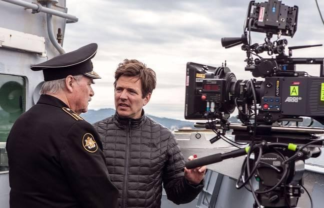 Le réalisateur Thomas Vinterberg, ici lors du tournage du film Kursk.