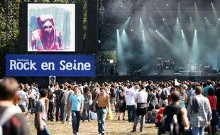 Le festival Rock en Seine