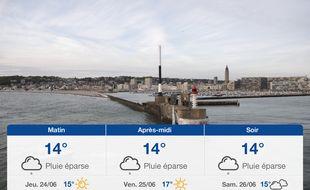 Météo Le Havre: Prévisions du mercredi 23 juin 2021