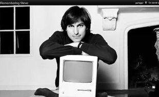 Extrait de la vidéo «Remembering Steve Jobs» mise en ligne sur le site officiel d'Apple le 5 octobre 2012.