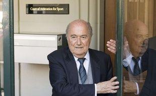 Sepp Blatter, en 2016