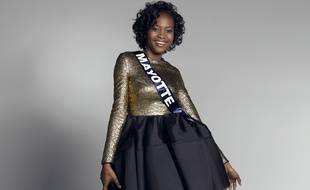 Naima Madi Mahadali, Miss Mayotte 2016.