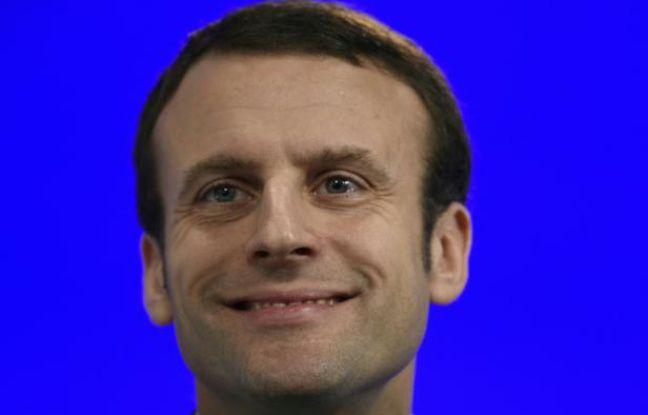 Emmanuel Macron le 29 janvier 2016 à Paris