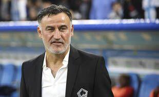 Christophe Galtier, l'entraîneur lillois