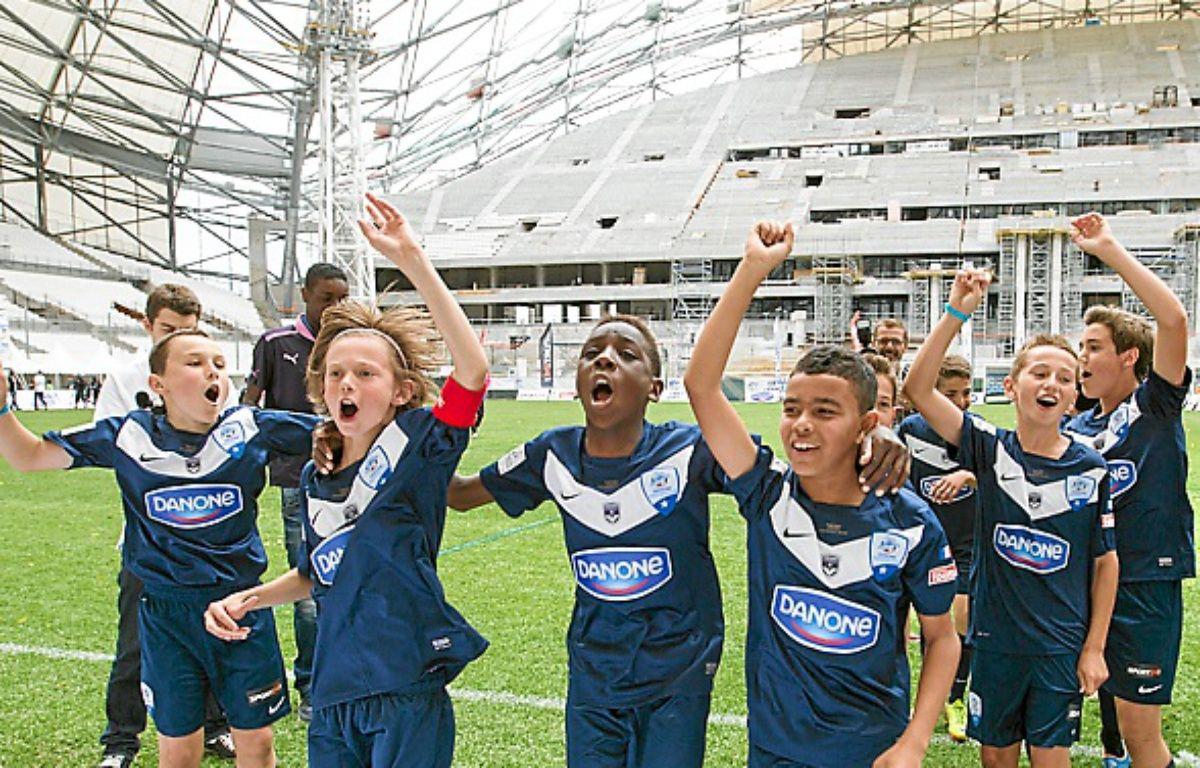 Les U12 de Bordeaux dimanche. – P.Magnien / 20 Minutes
