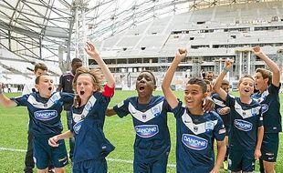 Les U12 de Bordeaux dimanche.