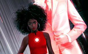 Le personnage de Riri Williams va remplacer Tony Stark derrière l'armure d'Iron Man.