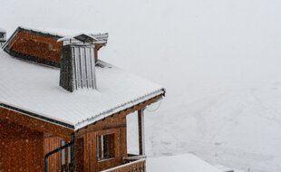 Première chutes de neige dans les Alpes comme ici à Val Thorens où il est tombé 30 centimètres de neige le 26 septembre.