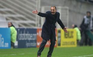 L'entraîneur du FC Nantes Michel Der Zakarian  Credit:Pierre Minier/Ouest Medias/Sipa/OUESTMEDIAS
