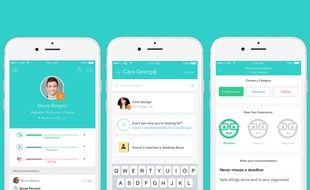 L'app People, qui permet de noter les gens, a été lancée le 7 mars 2016.