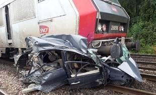 Aucun blessé n'est à déplorer dans cet accident ferroviaire