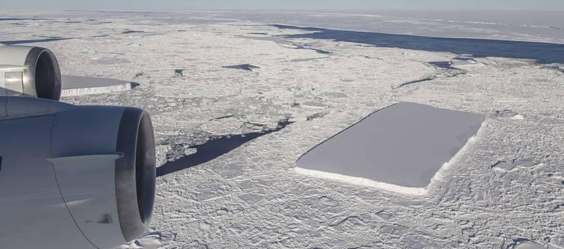 Un iceberg photographié en Antarctique en 2018 (illustration).