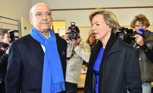 Virginie Calmels (LR-UDI-Modem), ancienne patronne d'Endemol en compagnie d'Alain Juppé dont elle est la première adjointe à Bordeaux. Credit:Ugo Amez/SIPA/1512061705